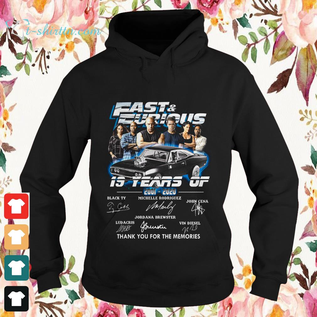 19-years-fast-furious-signatures-thank-you-for-the-memories-Hoodie 19 years fast and furious signatures thank you for the memories shirt