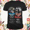 60 years of the beatles 1960 2020 thank you for the memories signatures T shirt