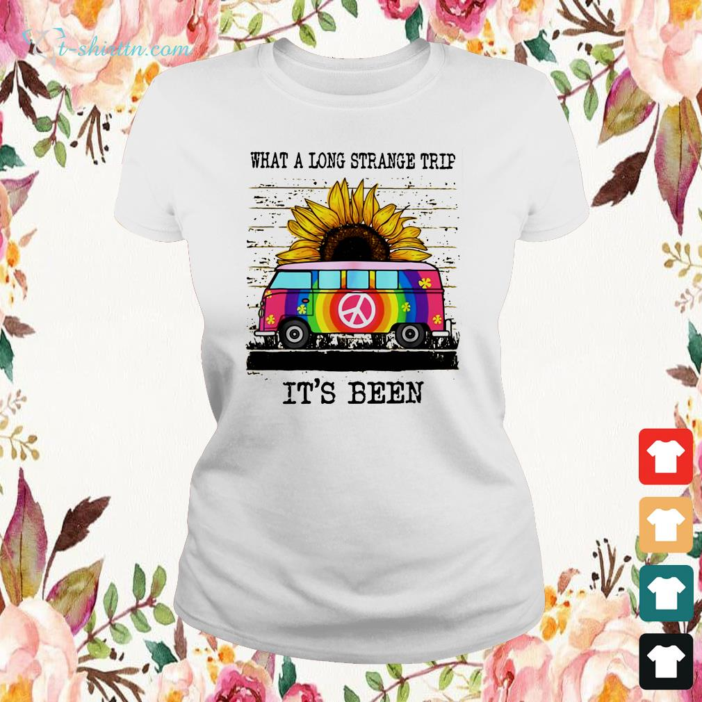 what-a-long-strange-trip-its-been-ladies-tee What A Long Strange Trip It's Been T-Shirt