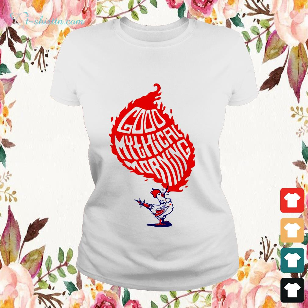 chicken-good-mythical-morning-Ladies-tee Chicken good mythical morning shirt