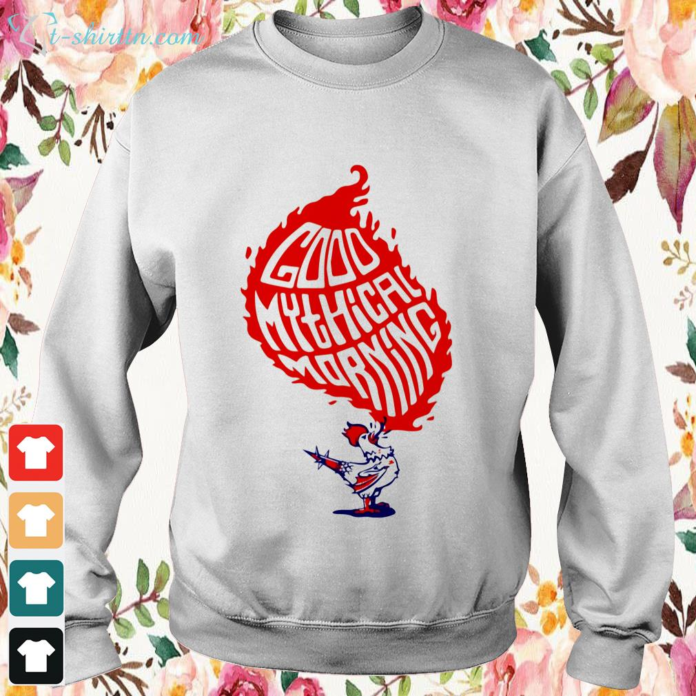 chicken-good-mythical-morning-Sweater Chicken good mythical morning shirt