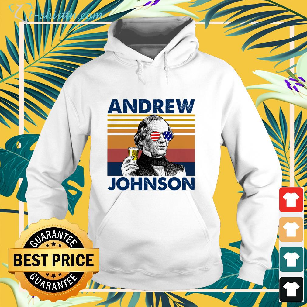 Andrew Johnson Independence Day shirt