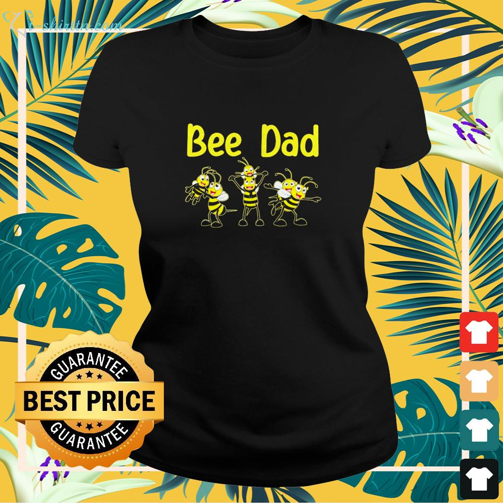 Bee dad funny family shirt