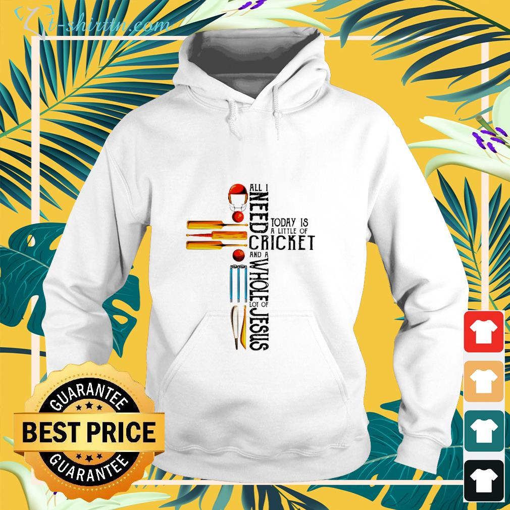 cross-all-i-need-today-is-a-little-of-cricket-and-a-whole-lot-of-jesus-hoodie Cross All I need today is a little of Cricket and a whole lot of Jesus shirt