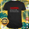 dadpool deapool like a dad only cooler t shirt