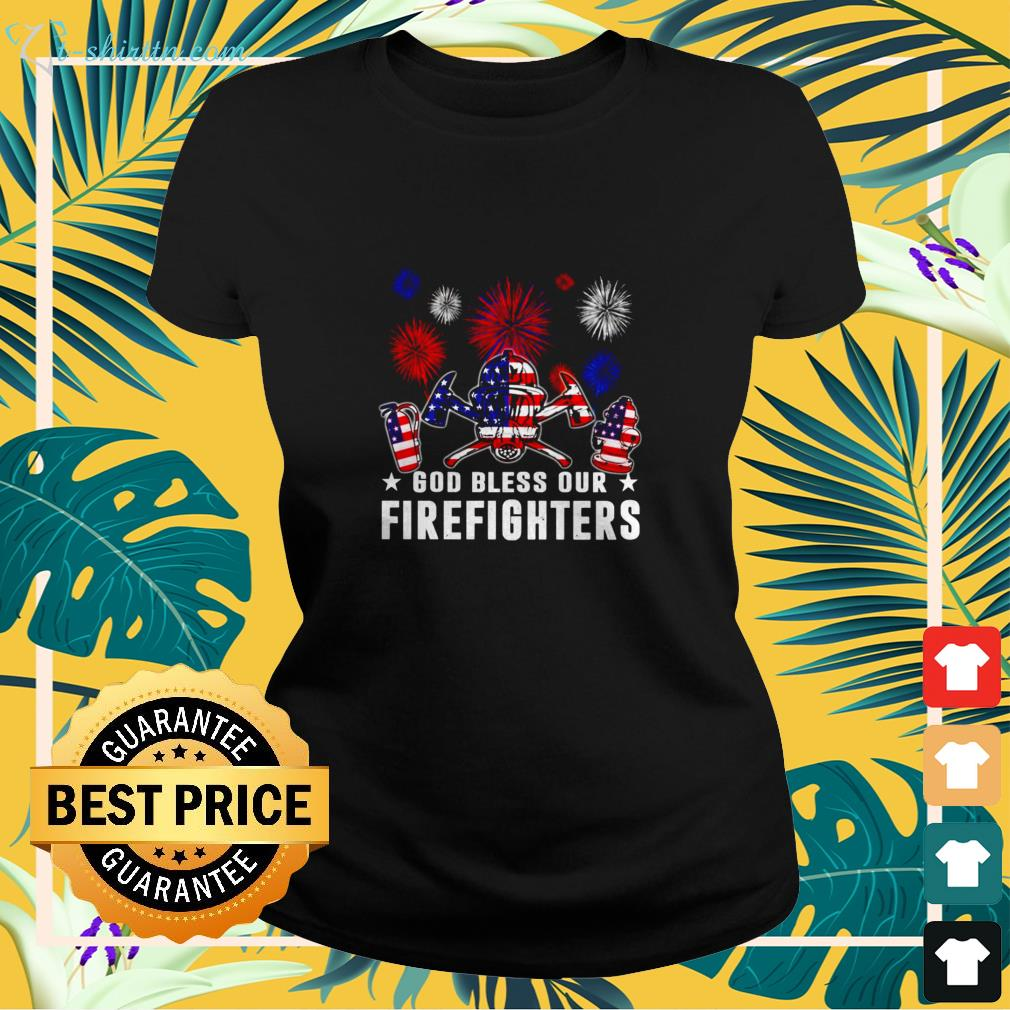Independence Day American 4th of July ladies-tee