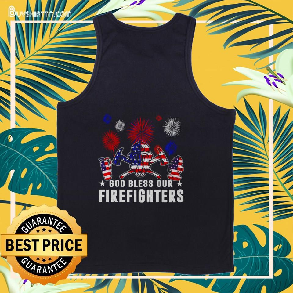 Independence Day American 4th of July tank top