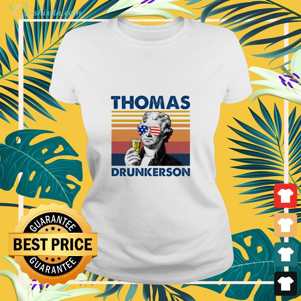 Thomas drunkerson Independence Day shirt