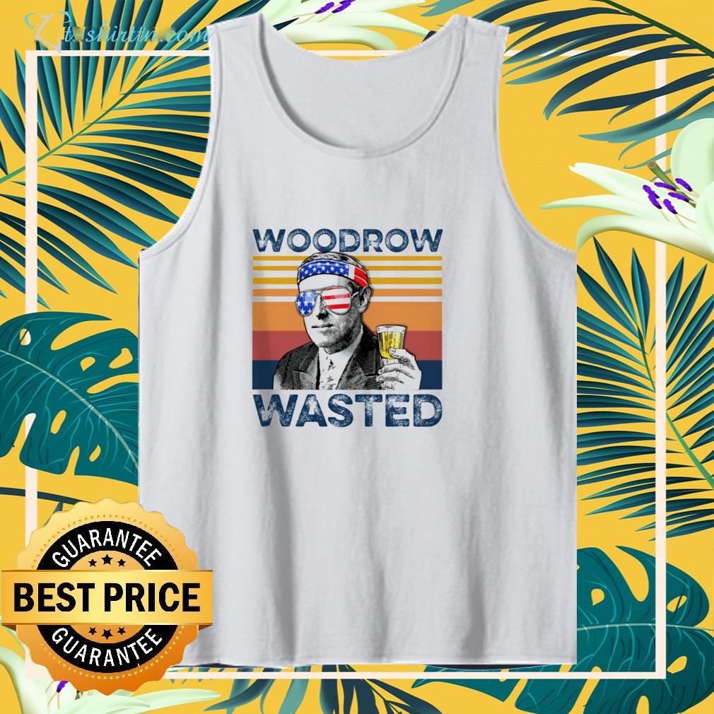 woodrow wasted Independence Day shirt
