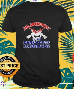 2nd Amendment guns guts shirt