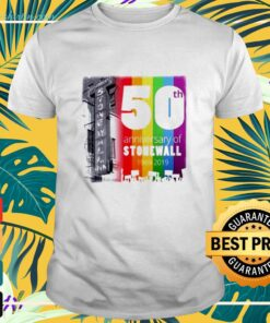 50th Anniversary of The Stonewall riots 1969-2019 shirt