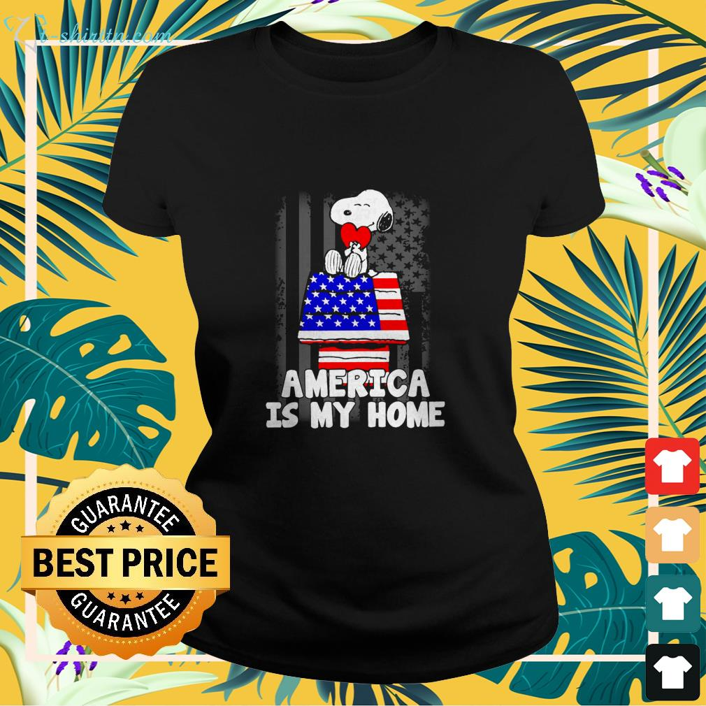 America is my home independence day shirt