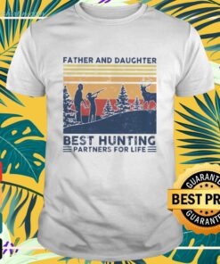 Father and daughter best hunting partners for life shirt