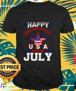 Happy Independence Day American USA 4th od July shirt