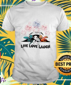 Independence Day America turtle live love laugh shirt