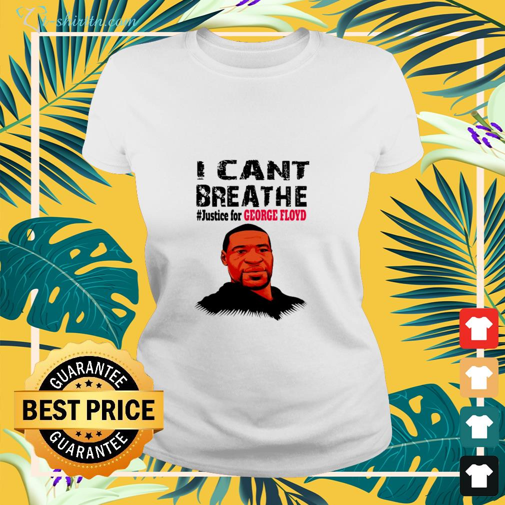 Justice for George Floyd I can't breathe shirt