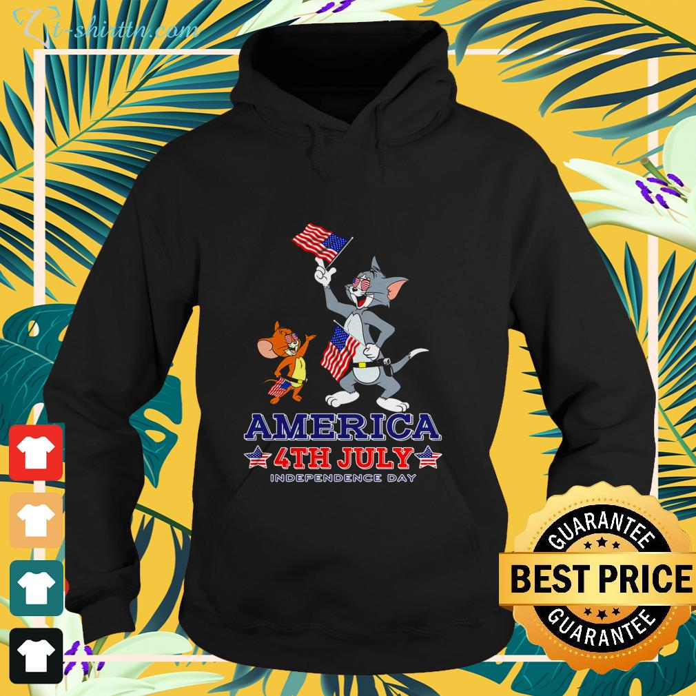 Tom and Jerry America 4th of July Independence Day shirt