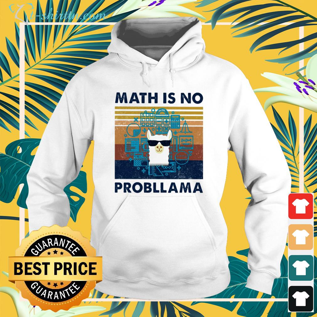 llama-math-is-no-probllama-vintage-hoodie Llama math is no probllama vintage shirt