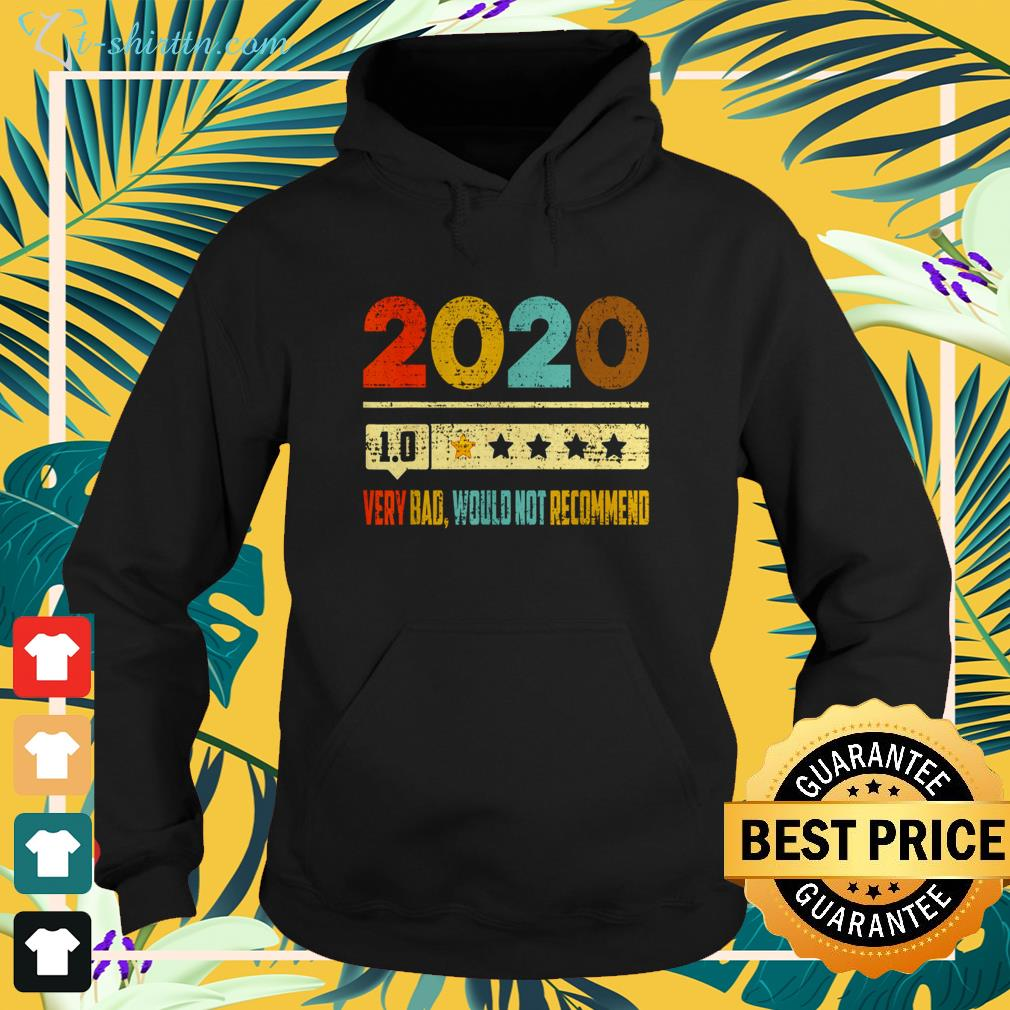 2020 1.0 very bad would not recommend vintage hoodie