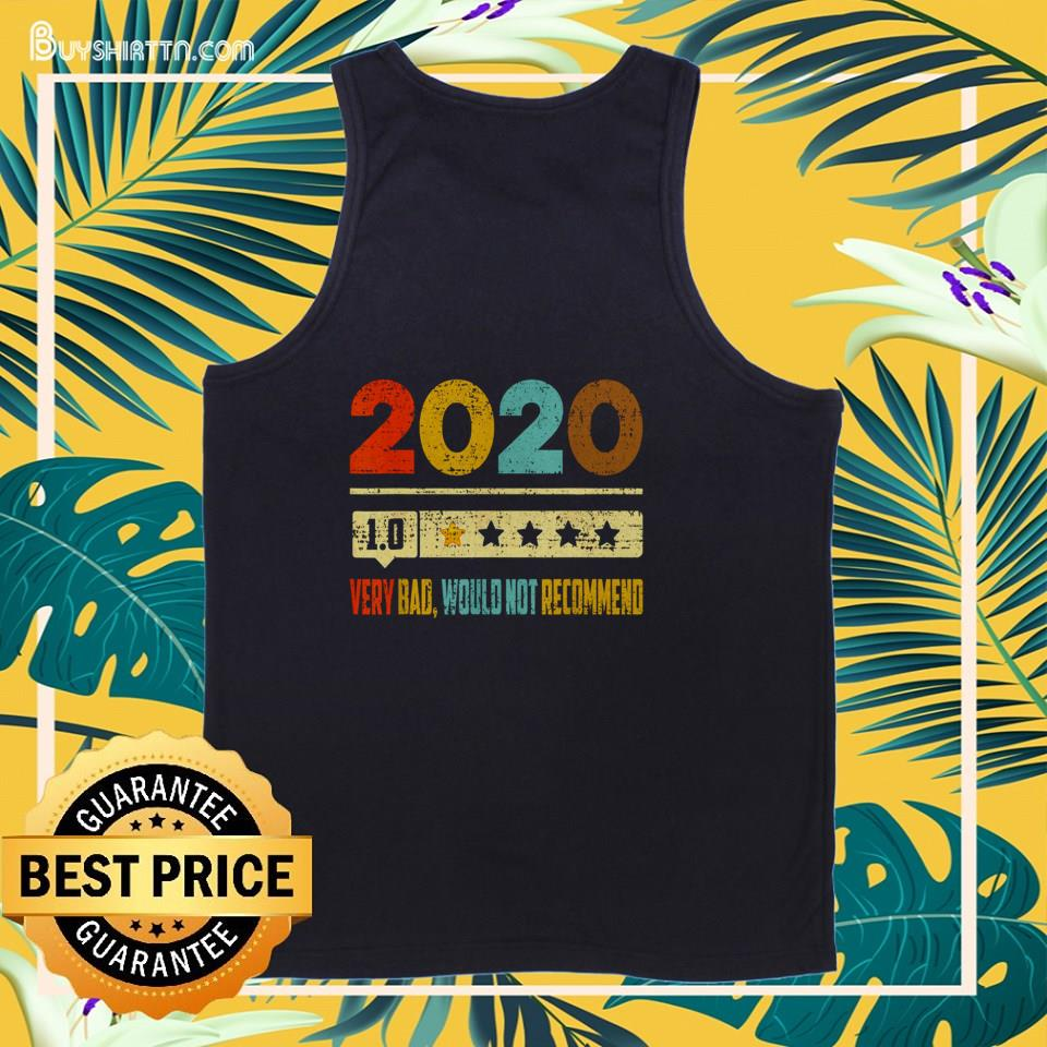 2020 1.0 very bad would not recommend vintage tank top