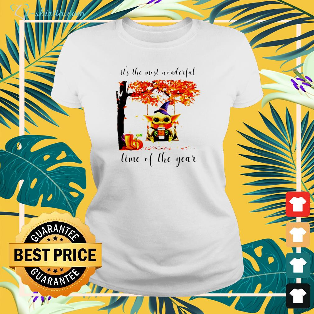 Baby Yoda It's the most wonderful time of the year shirt