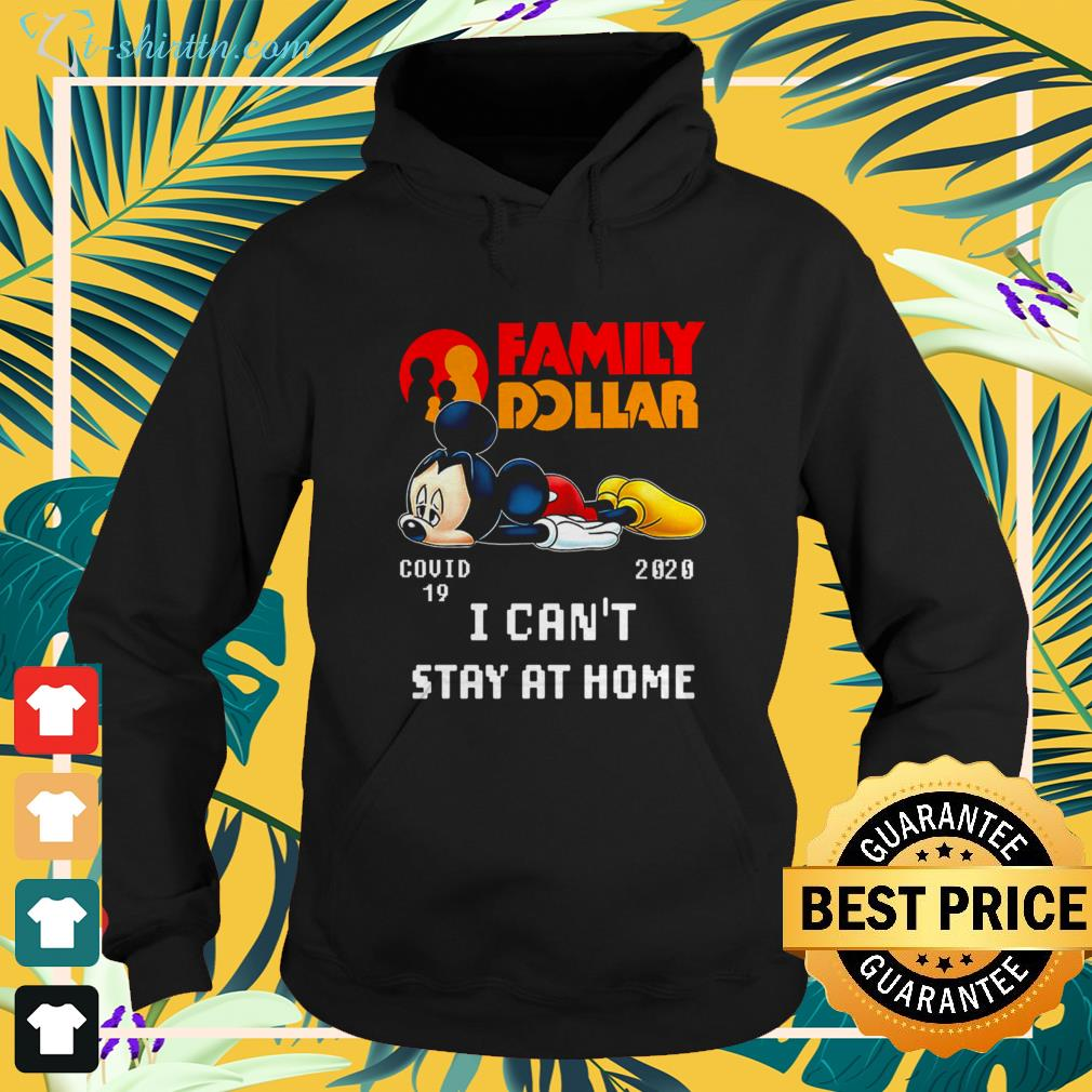 Family Dollar Mickey Mouse Covid 19 2020 hoodie
