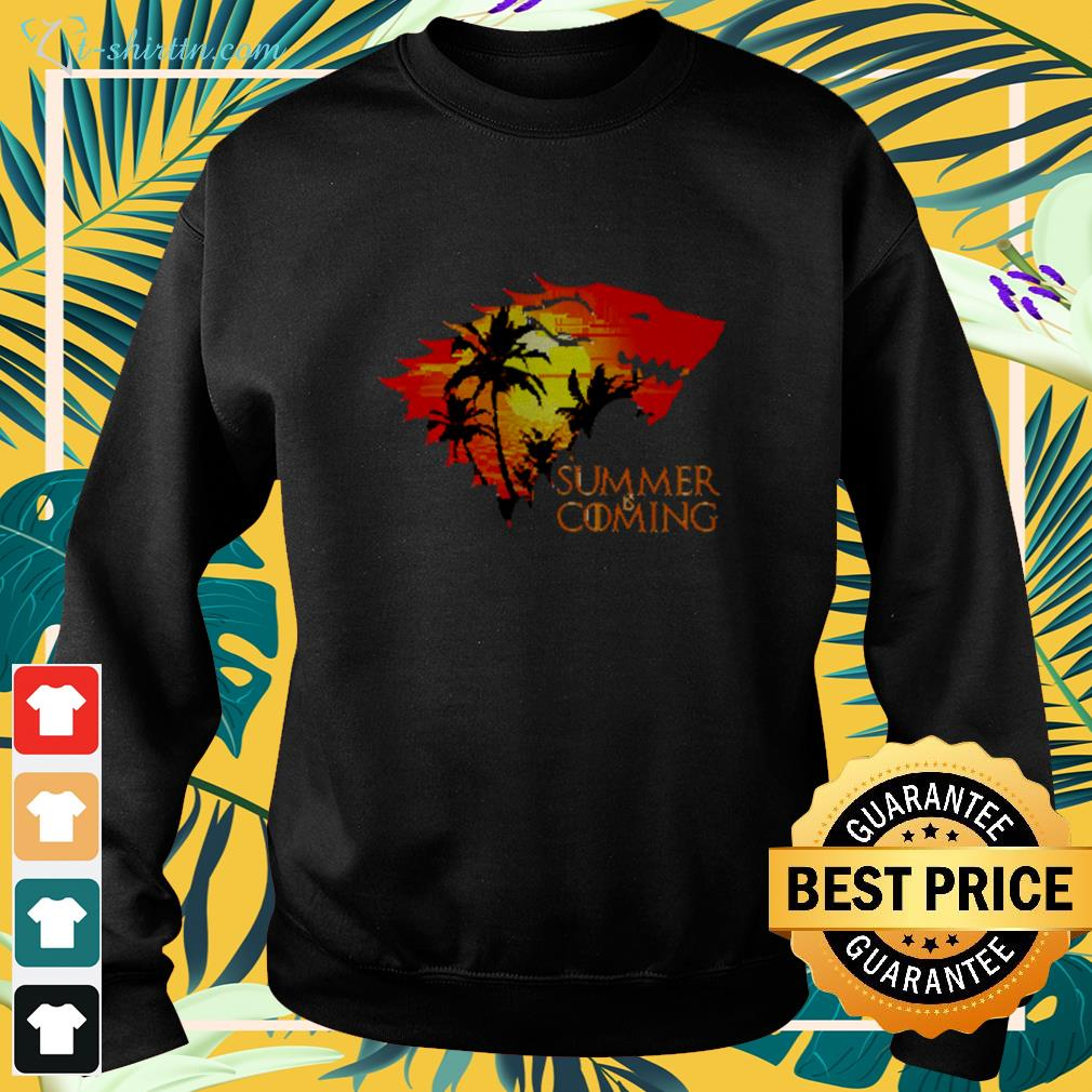 Game of Thrones summer is coming sweater