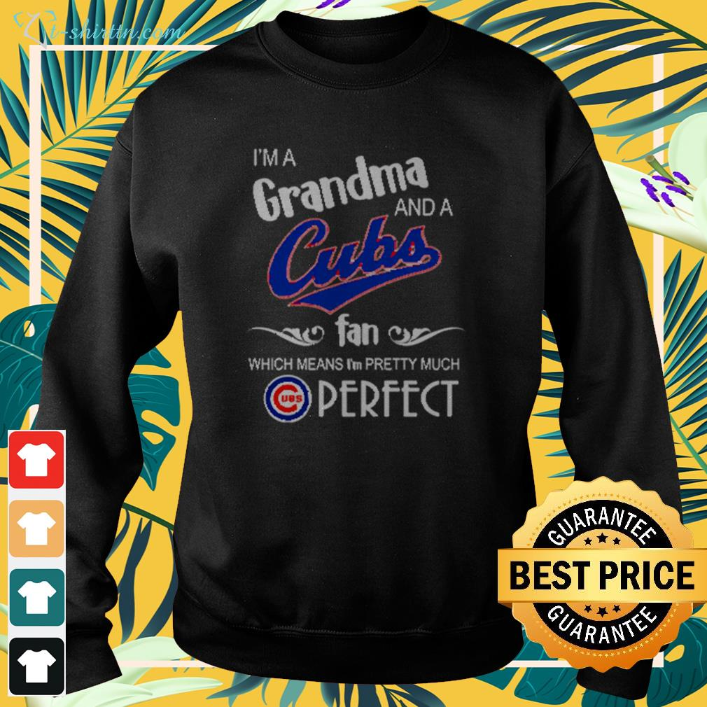 I'm a grandma and a Chicago Cubs fan which means I'm pretty much perfect sweater