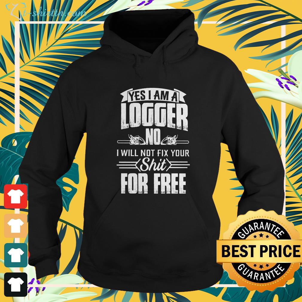 Logger will not fix your hoodie