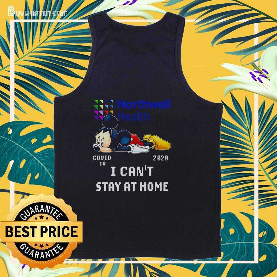 Northwell Health Mickey Mouse Covid 19 2020 tank top