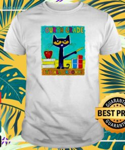 Pete the Cat's Fourth grade it's all groovy t-shirt