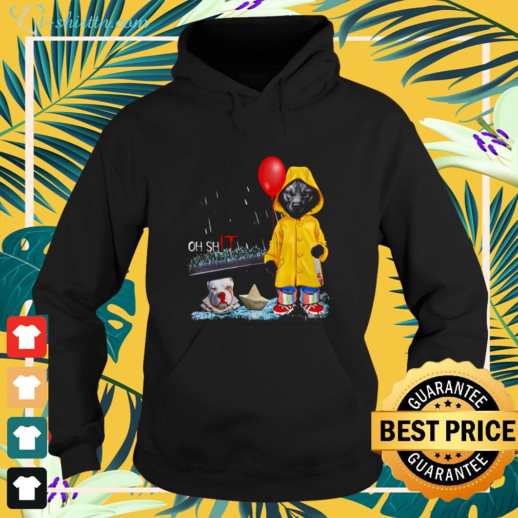 Pitbull oh shit Pitbull Pennywise IT hoodie