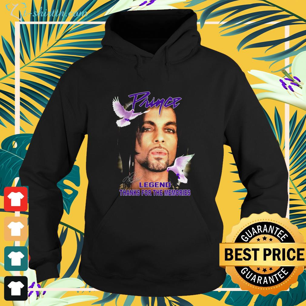 Prince legend thank for the memories signature hoodie