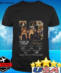 10 years of Pretty Little Liars 2010-2020 thank you for the memories t-shirt