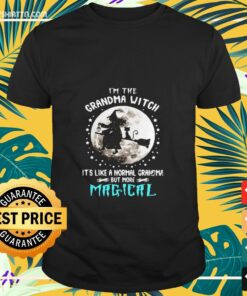I'm the grandma witch it's like a normal grandma but more Magical Halloween t-shirt