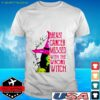 Breast cancer messed with the wrong Witch t-shirt