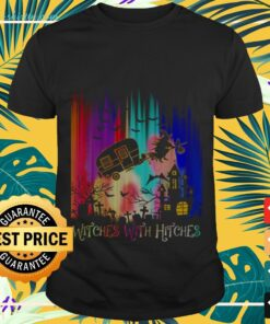 Camping witches with hitches Halloween t-shirt