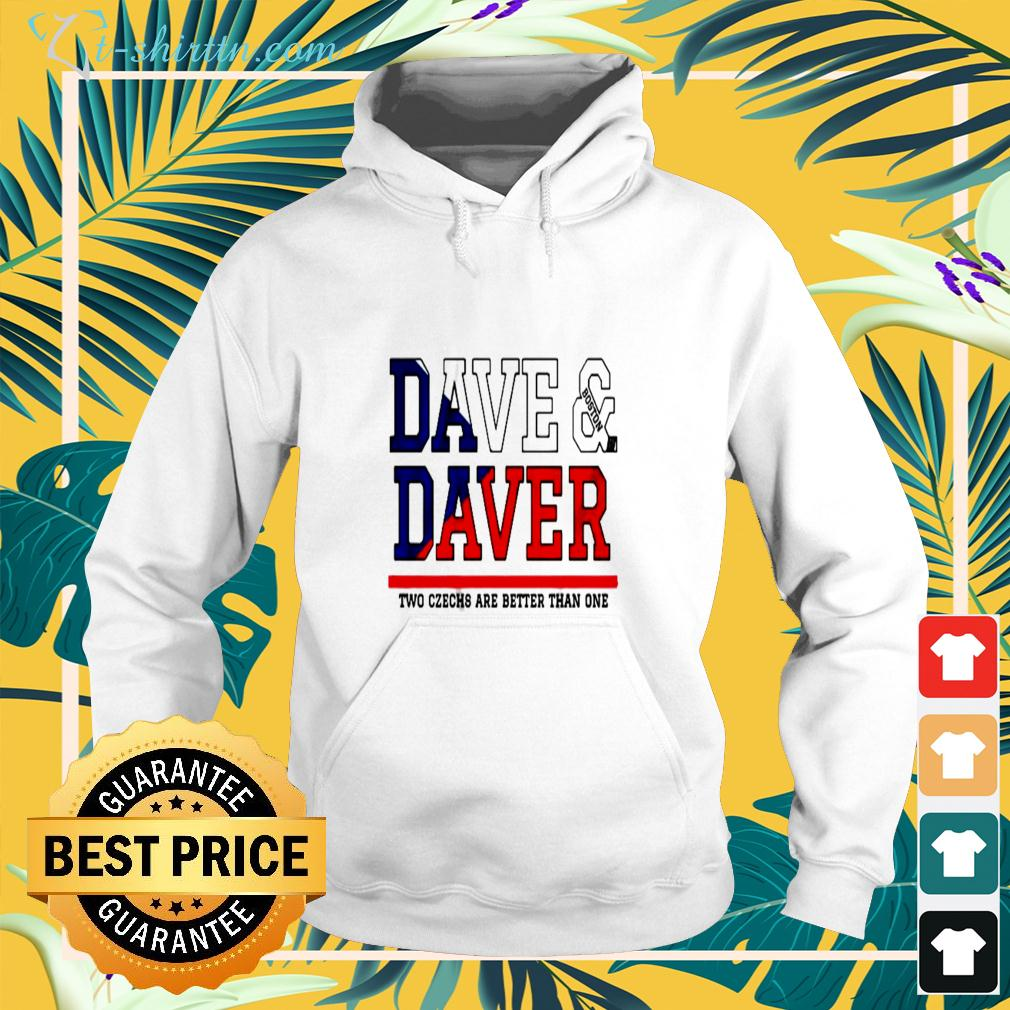 Dave Boston Daver two czechs are better than one hoodie