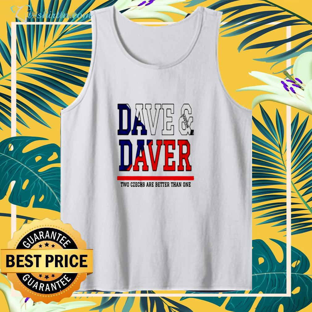 Dave Boston Daver two czechs are better than one tanktop
