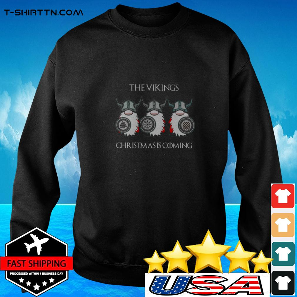 Gnomes The Vikings Christmas is coming sweater