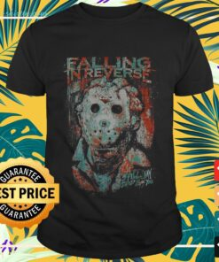 Halloween Jason Voorhees falling in reverse spill my blood for you t-shirt