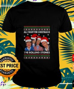 All I want for Christmas The Rolling Stones ugly Christmas t-shirt