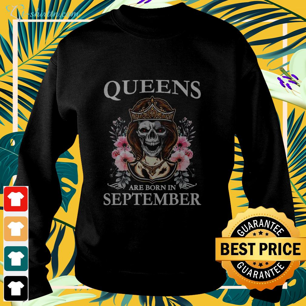 Queens are born in september sweater
