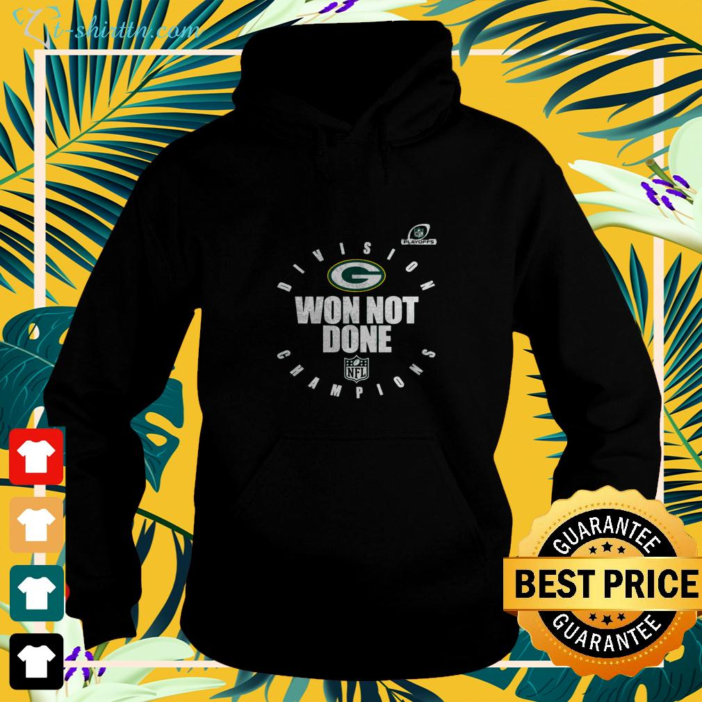 Green Bay Packers NFL Division won not done Champions hoodie