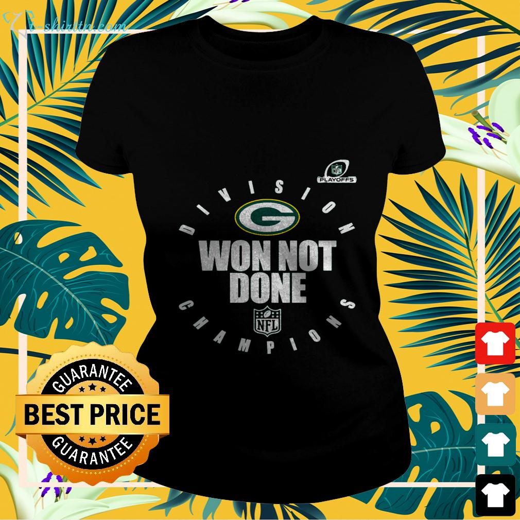 Green Bay Packers NFL Division won not done Champions ladies-tee
