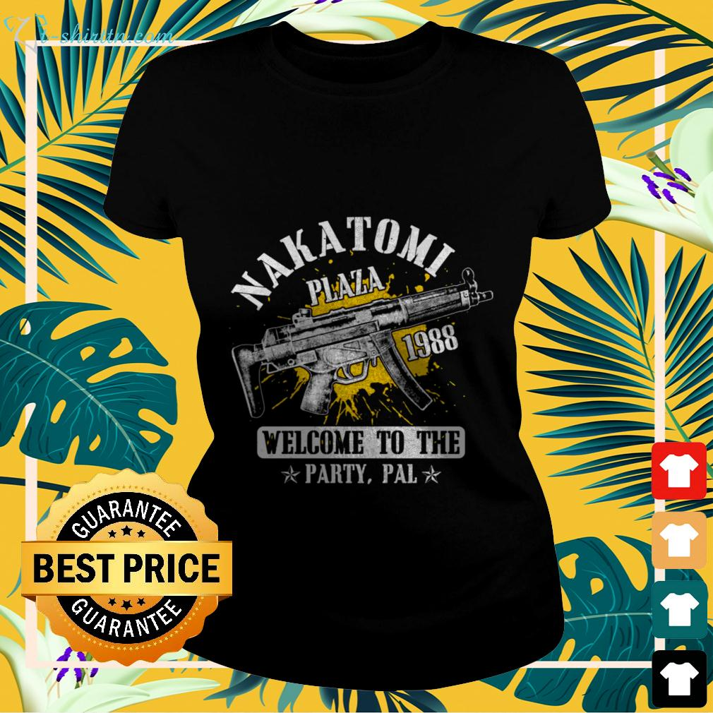 Nakatomi plaza 1988 welcome to the party pal party ladies-tee