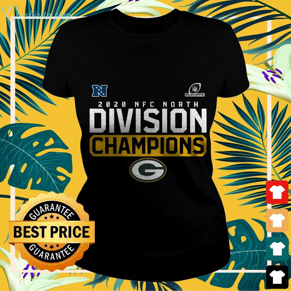 2020 NFC North Division Champions Green Bay Packers ladies-tee