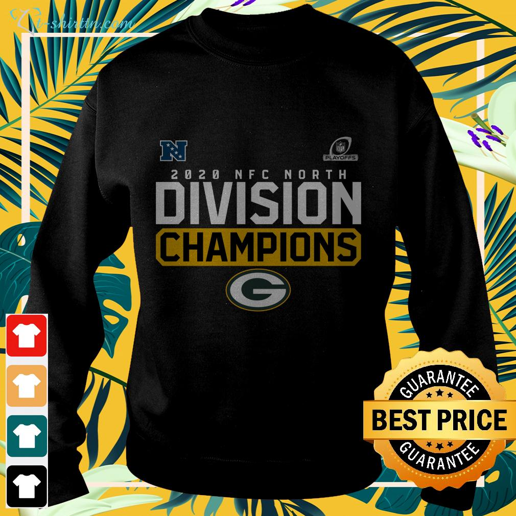 2020 NFC North Division Champions Green Bay Packers sweater