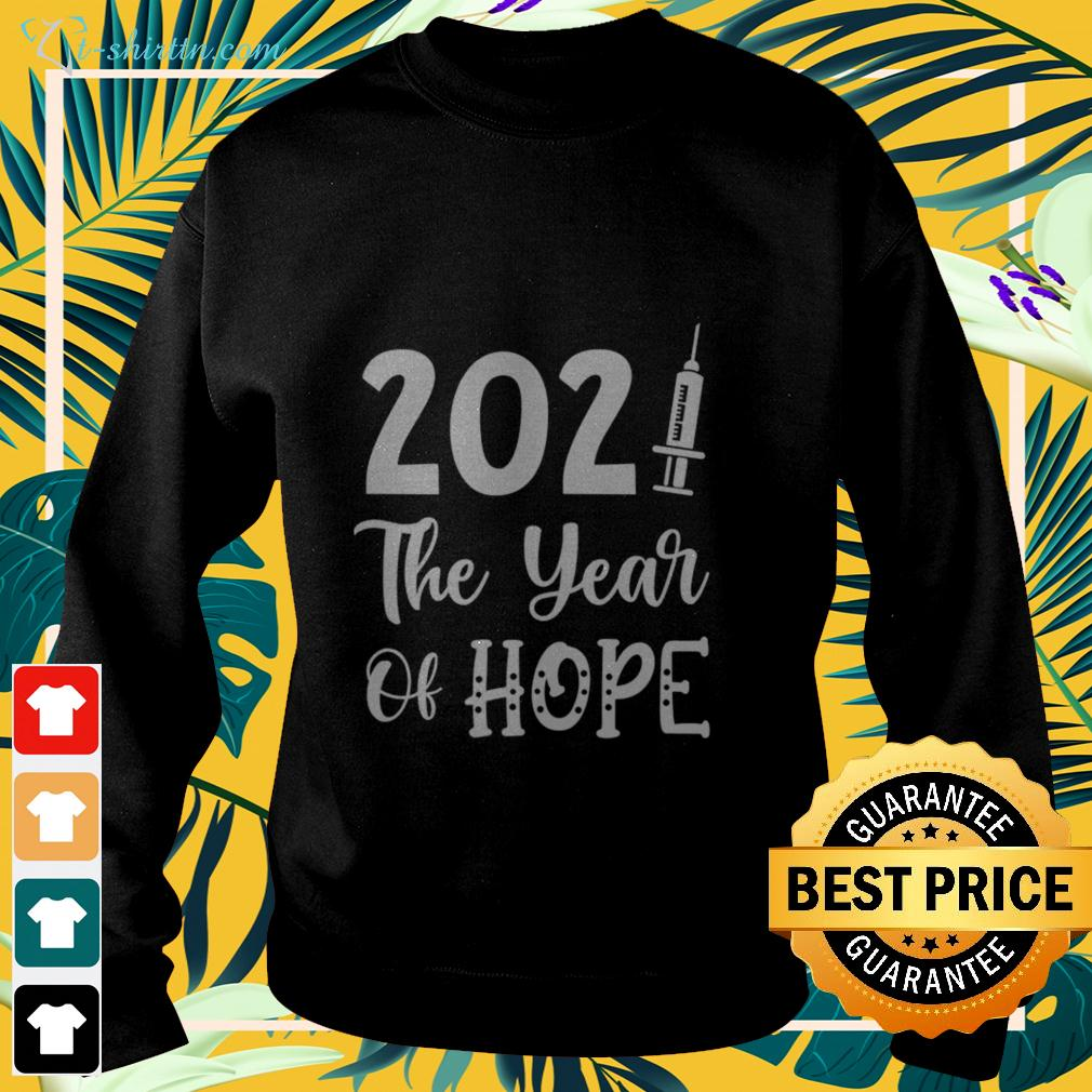 2021 the year of hope sweater