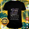 25 years of the greatest NFL teams Ravens thank you for the memories t-shirt